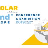 IV Solar en Wind Europe 2019