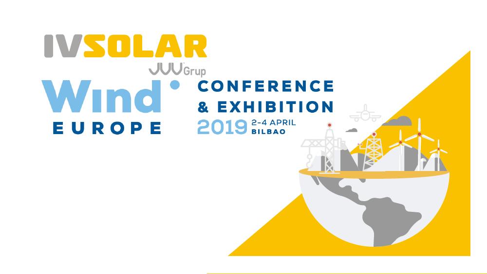 Nous serons présents à Wind Europe 2019