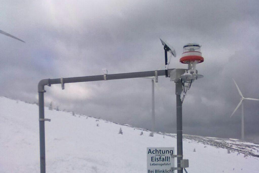 Ice-warning