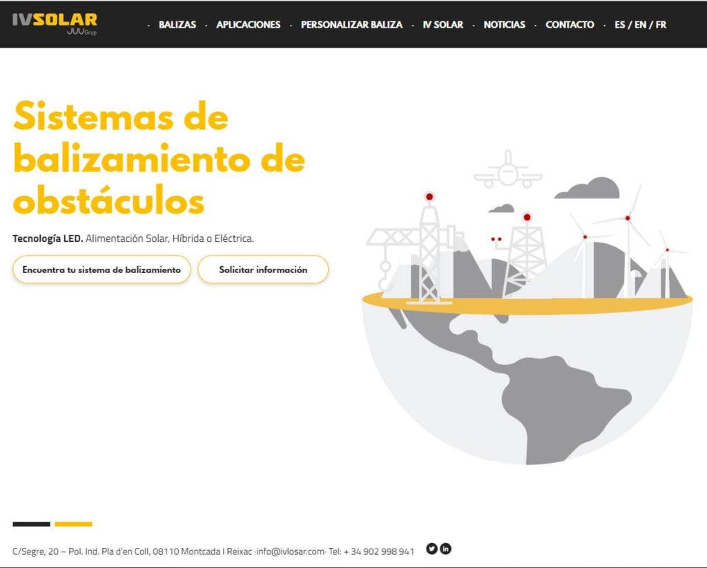 IVSOLAR: Nouveau site Web